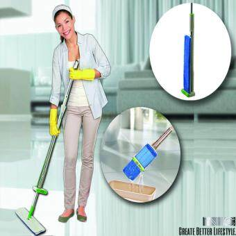 Harga IR7753 2nd Generation High Quality Microfiber Flat Mop Handwashless Mop With 2 Mop Pads Floor Cleaner