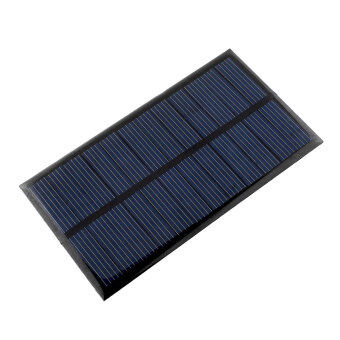 Harga 6V 1W Solar Panel Module DIY Small Cell Charger For Light Battery Phone
