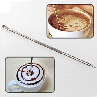 Harga New Coffee Latte Stainless Steel Art Pen Tool Espresso Machine Cafe Kitchen