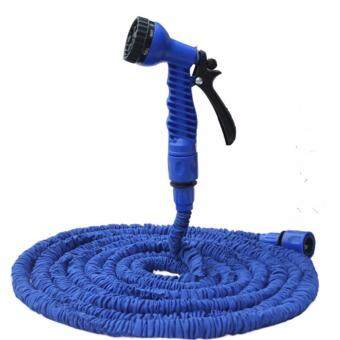 Harga 25 ft Hand Jet Water Cannon with 8 Spray Setting + Water Pressure Blue
