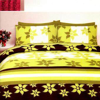 Harga Super Single Fitted Bed Sheet Set-: (D-1885-C)