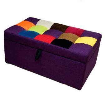 Harga VIVA HOUZ - LUCIA Storage Ottoman / Bench / Sofa (Fancy Purple)