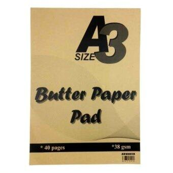 Harga ADV Butter Paper Pad A3 - BUT340 38gsm (40 Pages)