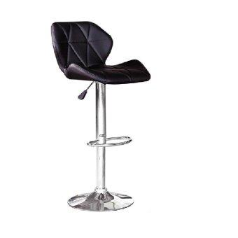 Harga LAVIN BS 8083 PU BAR STOOL BLACK