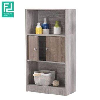 Harga Furniture Direct CELINA 2 tone 3 tier color bookcase