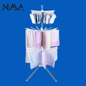 Harga NaVa Stainless Steel Indoor 3 Tier Light Clothing Drying Rack