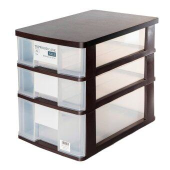 Harga Clover Top Wood A4 Size Filling Cabinet
