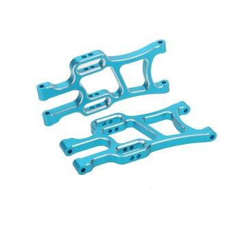 Harga 108019 1/10 Upgrade Parts Blue Aluminum Front Lower Suspension Arm for HSP RC Car