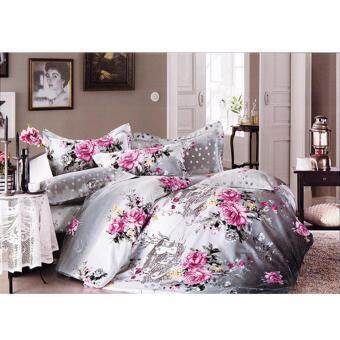 Harga Floral King Fitted Sheet Set