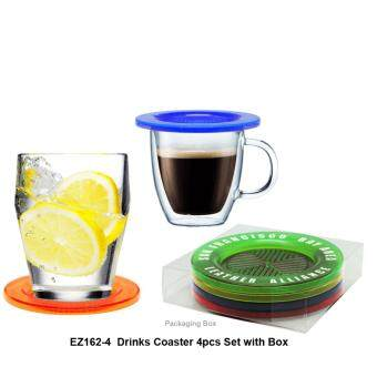 Harga CRISTAL Drink Coaster - 4pcs Set with box