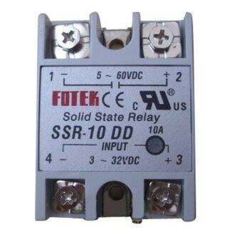Harga Solid State Relay SSR-10 DD DC-DC 10A 3-32VDC Input 5-60VDC Output-