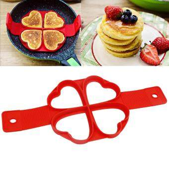 Harga Good Service Pancake Non Stick Silicone Mold Perfect Flip Egg Omelette Breakfast Maker Tool Heart