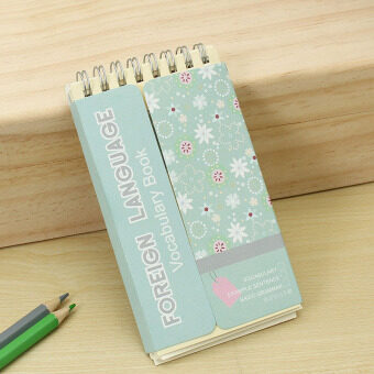 Harga Kawaii Vocabulary Words Recite Portable Notebook Sketchbook Stationery School Office Supplies Grey