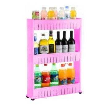 Harga Movable 3 Layer Storage Rack (3 Layer)