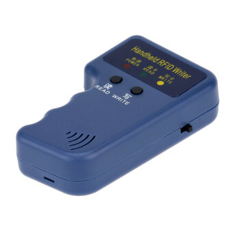 Harga Portable Handheld 125KHz RFID HID/ID Card Writer/Copier Duplicator