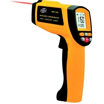 Harga LT365 BENETECH GM320 LCD Gun Style Infrared Thermometer With Laser Pointer(-58℉~626℉)