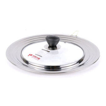 Harga Kitchen Art Multi Lid Universal Frying Pan Cover Used 24~30cm Pan & Wok