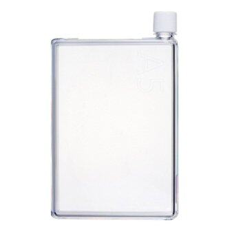 Harga A5 Memobottle Stylish Memo Water Bottle 420ML - (Transparent)