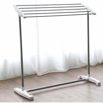 Harga Edens Multifunctional Stainless Steel Inclined Towel Drying Rack