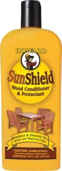Harga Howard SWAX16 SunShield Wood Conditioner & Protectant