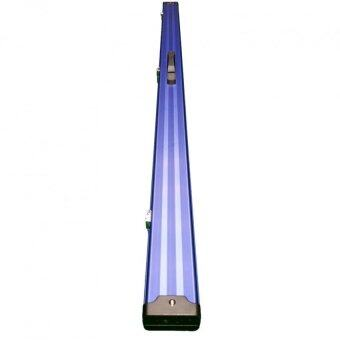 Harga Billiard Snooker Pool Aluminium Two Compartment Cue Case - Blue