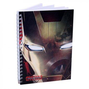 Harga Marvel Avengers Captain America Civil War Notebook - Iron Man