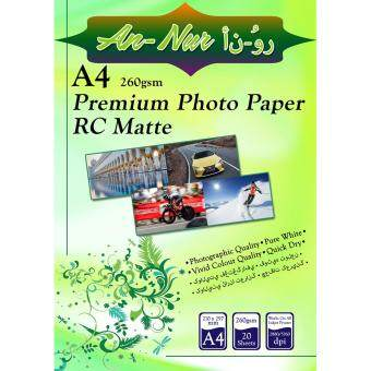 Harga An-Nur A4 Matte Photo Paper 260gsm (20pcs/pkt)