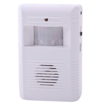 Harga KK-905 Wireless IR Auto Guest Greeting Sensor Entry Alert Door Chime Voice Alarm