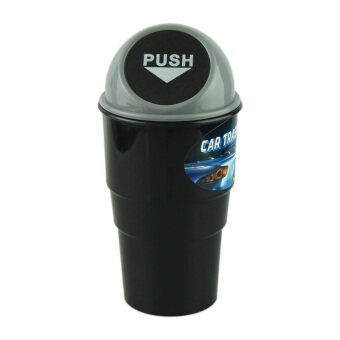 Harga Bigskyie NEW car garbage can Car Trash Can Garbage Dust Case Holder Bin Gray Free shipping