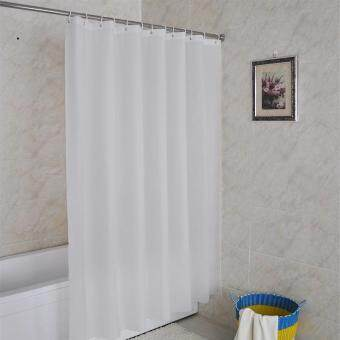 Harga Waterproof Shower Curtain Shower Curtain Rather Than Non-White Solid Waterproof Mildew Shower Curtain Bathroom Curtains Send Link,200 W *240 H