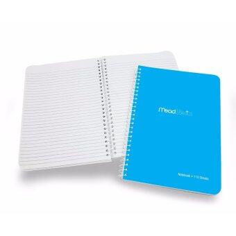 Harga MEAD Basics Notebook A5 3's (Pink, Blue & Black)