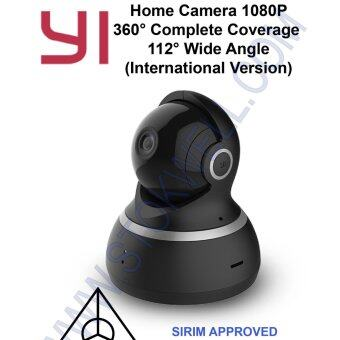 Harga Xiao Yi Dome Home CCTV Camera 1080P Full HD-360° Full Security Coverage-12 Months Warranty [Black]