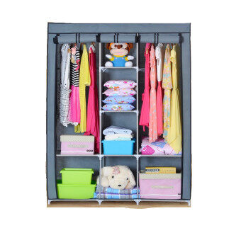 Harga Dust Cover Wardrobe Grey