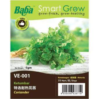 Harga Baba Smart Grow Seeds VE-001 Coriander (Ketumbar) ±5G
