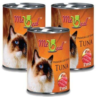 Harga McBeal Cat Can Wet Food Tuna Flavour 400g x 6 cans