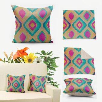 Harga Turquoise/Pink/Champagne Turkish ikat Pillows Covers 45x45cm,Home Decor Cushion Covers Throw Pillow Case QW017