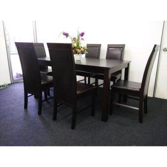 Harga Cos-Diana Dining Set (1 Table + 6 Chairs)