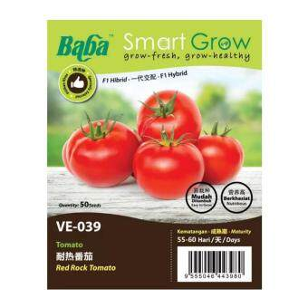 Harga Baba Smart Grow Seeds VE-039 Tomato Red Rock (Tomato) 55SEEDS