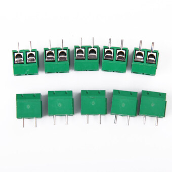 Harga Two-Pin PCB Mount Terminal Block Connector Pitch 10 Pcs
