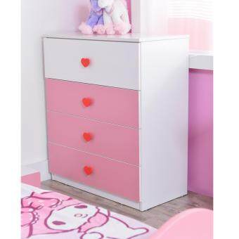 Harga Castle Kid 4 Drawer Chest Amelia 2504