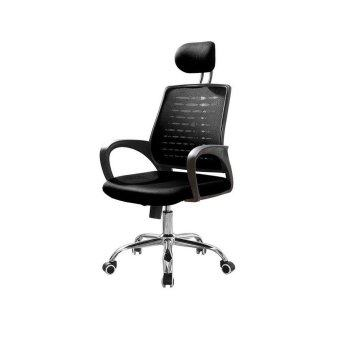 Harga Deluxe Mesh Office Chair - Black