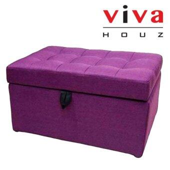Harga VIVA HOUZ - EVO (XL) Storage Ottoman / Bench / Sofa (Fancy Purple)