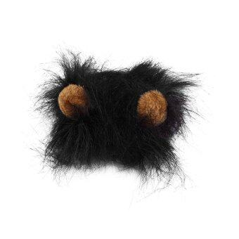 Harga Allwin Pet Costume Lion Black Mane Wig for Cat Halloween Christmas Party Dress Up With Ear