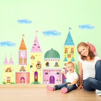 Harga Wall Decals Fairy tale castle Decorative PVC Wall Stickers