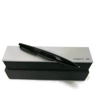Harga CERRUTI 1881 Ring Top Twist Ballpoint Pen (Black) - NST7304