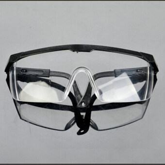 Harga New Safety Eye Protection Clear Lens Goggles Glasses From Lab Dust Paint Lab Black