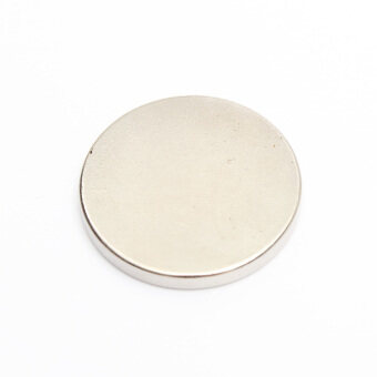 Harga 10 x Strong Disc Disk Round Rare Earth NdFeB Disc N35 Grade 25mm x 3mm Magnets