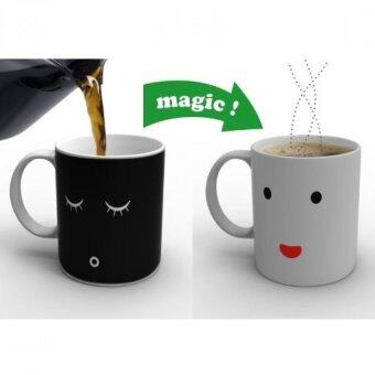 Harga Magic Heat Sensitive Color Change Morning Mug Coffee Milk Cup Mug Gift