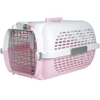 Harga Catit Profile Voyageur Cat Carrier, Pink White, Small 48.3 cm L x 32.6 cm W x 28 cm H