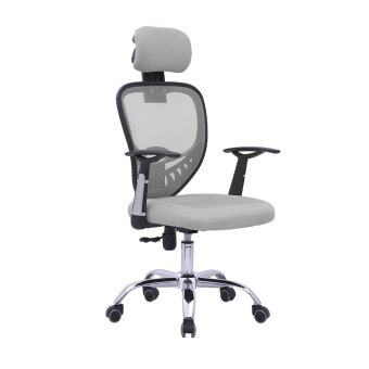 Harga D07 Office Chair (Grey)